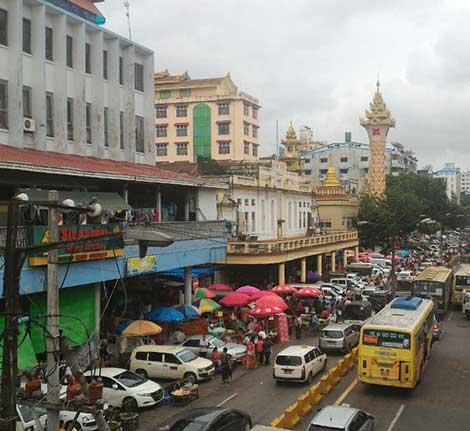 Theingyi Zei Market
